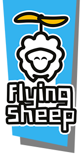 Logo Flying Sheep
